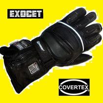 Guantes Moto Exocet Invierno Impermeable Abrigo Con Cierre
