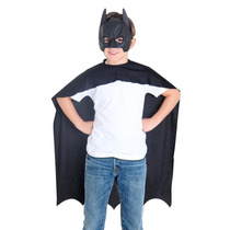 Kit Mascara Capa Batman Liga De La Justicia Goma Eva