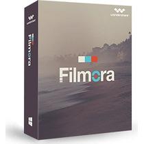 Editor De Vídeo Filmora + 2 Pack De Efectos Sin Marca De Agu