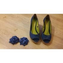 Zapatos Azules Talle 37
