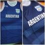 Camiseta Musculosa Seleccion Argentina Basquet Original Naci