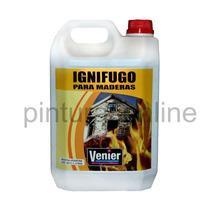 Ignifugo Antifuego P/ Maderas Venier X 5 Lts C/certificado