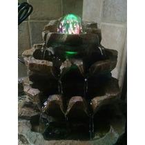 Fuente De Agua Con Luz Esfera De La Suerte Feng Shui Zen