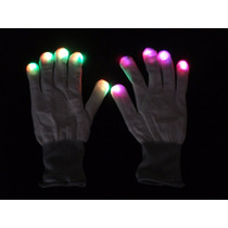 4 Par Guantes Luminosos