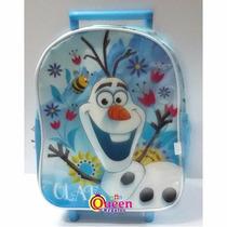 Mochila Jardin Carrito Olaf Frozen 12 Pulgadas Wabro 69319