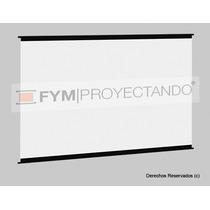 Pantalla Proyeccion 80 Pulgadas Back Front Colgar Proyector