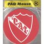 Pad Mouse Club Atlético Independiente Modelo Redondo