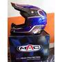 Casco Motocross-quad Mac Helmet Atomium Gloss