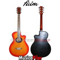 Guitarra Electro Acustica Faim 709eq Musicapilar