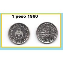 Moneda 1 Peso 1960