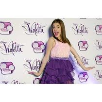Disfraz De Violetta El Original !! Disney Importado