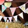 Guirnaldas Banderines Vintage Shabby Chic - Cumpleaños