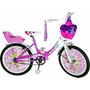 Bicicleta De Nena R20 Carolina Full Necchi. La Mas Linda