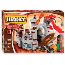 Blocky Castillo Dragones 880 Piezas Bloques En Smile