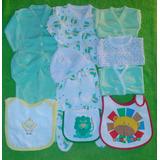 Ajuar De Nacimiento  14 Prendas. Envio Gratis Todo El Pais