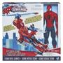 Titan Hero: Spiderman Con Helicóptero. Hasbro -minijuegosnet
