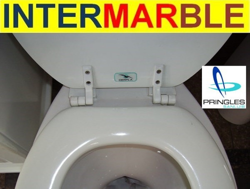 Set bisagras nylon plastico blanco tapa inodoro pringles for Bisagra tapa inodoro