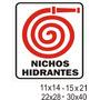 Cartel Nichos Hidrantes - Alto Impacto 22x28