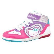 Zapatilla Botita Hello Kitty Con Luz Footy