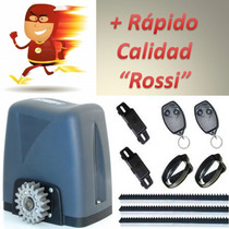 Motor Porton Corredizo Rapido Rossi Kit Automatizacion Turbo