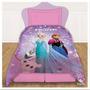 Acolchado Premium Frozen Elsa Ana 1 1/2 Plaza Piñata Disney