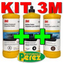 Kit 3m Tratamiento Acrílico + Pasta De Pulir + Abrillantador