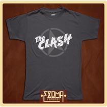 Exoma Remeras - The Clash (rock)