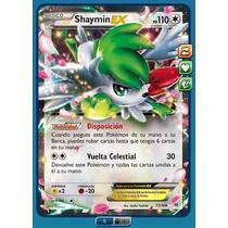 Pokemon Tcg Online - Shaymin Ex Full Art - Roaring Skies