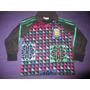 Camiseta Arquero Adidas Goycochea 1990 Talle 01 Niño