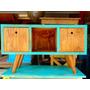 Rack Tv- Retro/vintage Pintado-diseños Únicos-otras Medidas