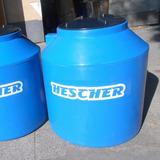 Tanque Agua Hescher Monocapa 500 Lts Azul 10 Años Garantía