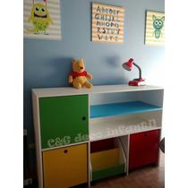 Muebles infantiles dormitorios todo para tu dormitorio for Mueble organizador infantil