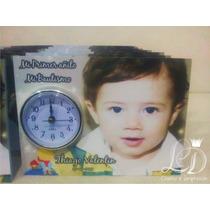 Souvenir Reloj De Inserto Oro Plata Cumpleaños...original!!
