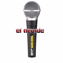 Microfono Skp Pro 58xlr Dinamico - El Acorde Pacheco