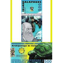 Islas Galápagos Billete De 500 Sucres Año 2012 Sin Circular