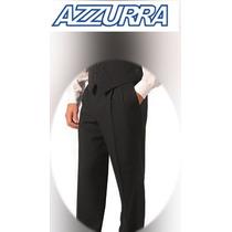 Pantalón Negro Para Mozo - Azzurra