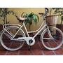 Bicicleta Vintage, Retro Dama Rod. 26 C/portapaquete