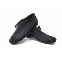 Zapato Tango Hombre Traspie Gamuza/red Negro T/41 (skucc99)