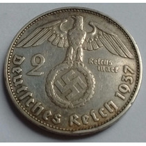 Tercer Reich - Alemania Nazi - 2 Reichsmark 1.937 G