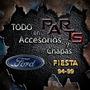 Guardabarro Delantero 96/99 Imp. Ford Fiesta Y Mas
