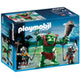 Playmobil Knights Trol Gigante Con Luchadores Art. 6004