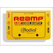 Radial X Amp Activo Reamplificador Guitarra Hendrix Music