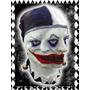 Mascara Latex Arlequin Payaso Disfraz Terror Halloween Impor