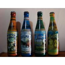 Set Botellas Quilmes Edicion Historica 1890 Completas
