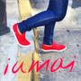Zapatillas De Mujer Arlequinas Iumai - Diseños Exclusivos