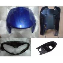 Combo Plasticos Maverick Fox 110 Negro - Dos Rueda Motos