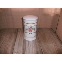 Antiguo Frasco De Farmacia De Porcelana