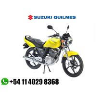 Moto Suzuki En 125 2a Full Nacional Ybr Titan Garantia 2años
