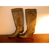 Botas Ricky Sarkany Color Bronce! Impecables!! Poco Uso!
