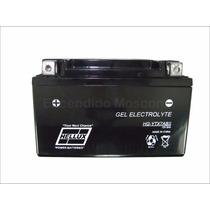 Bateria De Moto Hellux Gel Tipo Yuasa Ytx7abs 12v